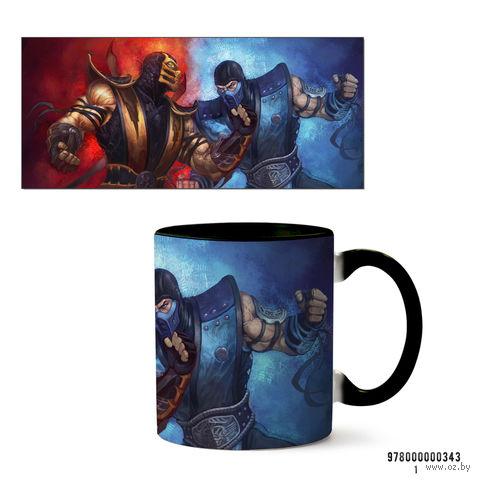 """Кружка """"Mortal Kombat"""" (343, черная)"""