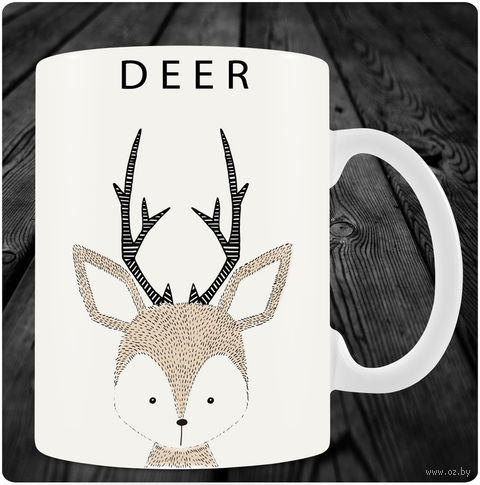 """Кружка """"Deer"""" — фото, картинка"""