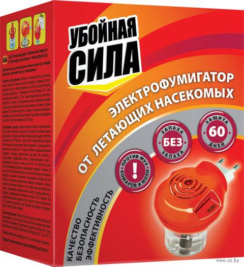 """Электрофумигатор с жидкостью """"Убойная сила. 60 дней"""" (30 мл) — фото, картинка"""