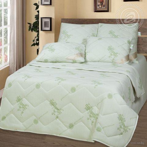Одеяло стеганое (140х205 см; полуторное; арт. 2524) — фото, картинка