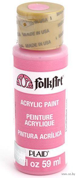 "Краска акриловая ""FolkArt. Acrylic Paint"" (розовый, 59 мл; арт. PLD-00413)"