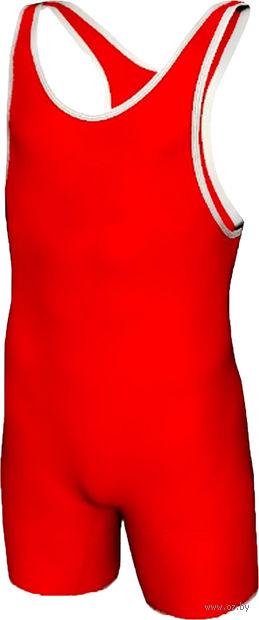 Трико борцовское MA-401 (р. 34; красное) — фото, картинка