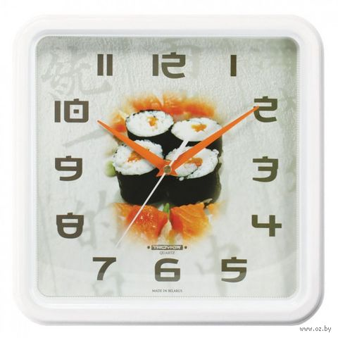 Часы настенные (26х26 см; арт. 77778744) — фото, картинка