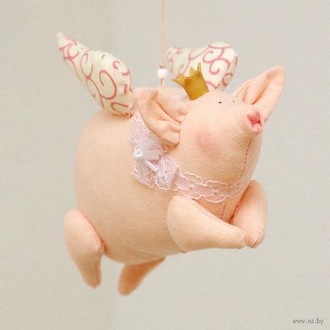 """Кукла ручной работы """"Свинка"""""""