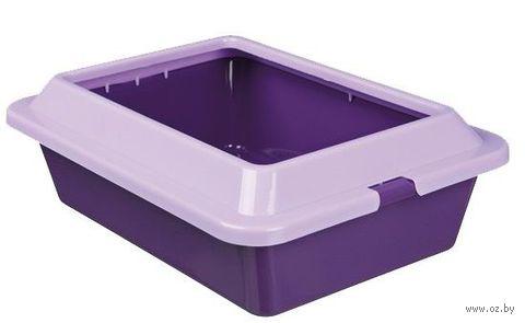 """Туалет для кошек """"Kitty"""" со съемным ободом для сменных пакетов (37х27х12 см; арт. 4041)"""