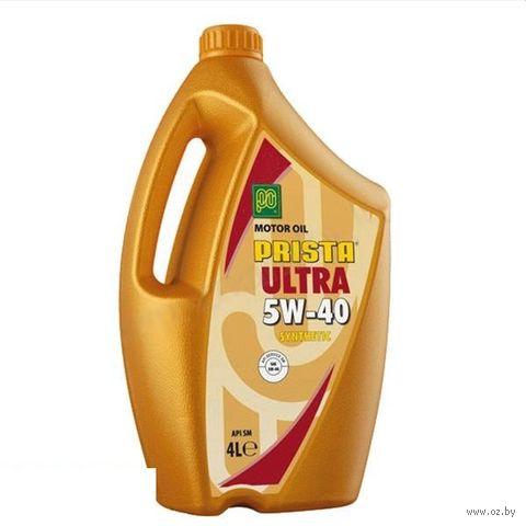 "Масло моторное ""Ultra"" 5W-40 (4 л) — фото, картинка"