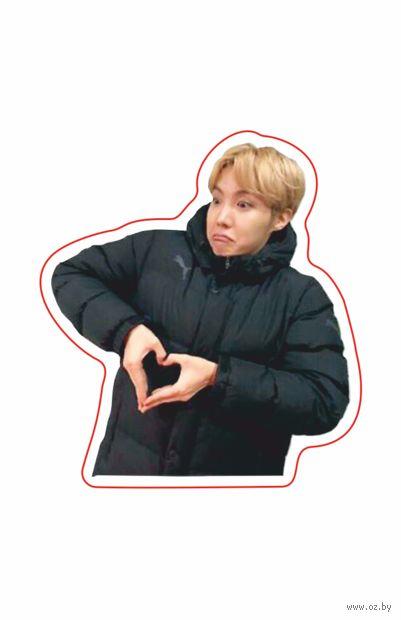 "Глянцевая наклейка ""BTS. J-Hope"" (арт. 10) — фото, картинка"