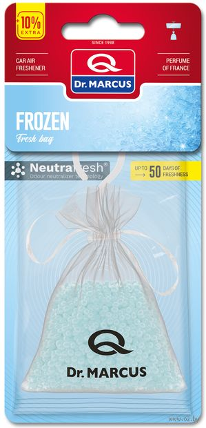 "Ароматизатор подвесной сухой ""Dr.Marcus Fresh Bag"" (Frozen; арт. 23274) — фото, картинка"