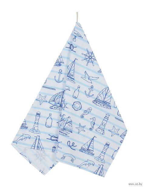 "Полотенце текстильное ""Морской бриз"" (45х60 см) — фото, картинка"