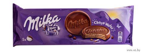 """Вафли """"Milka. Шоколадные"""" (150 г) — фото, картинка"""