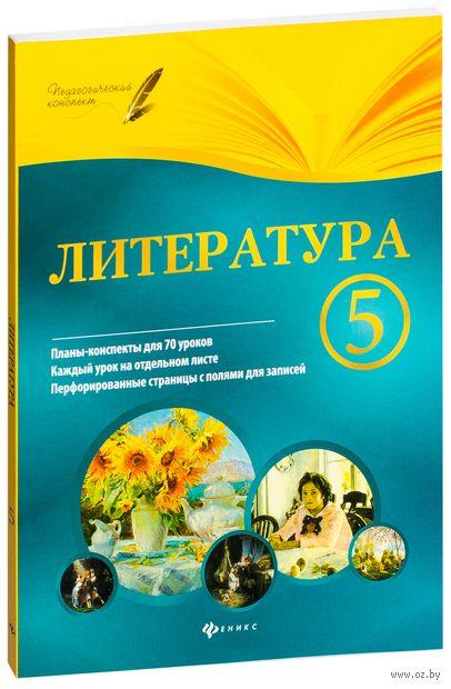 Литература. 5 класс. Планы-конспекты уроков. Ирина Челышева
