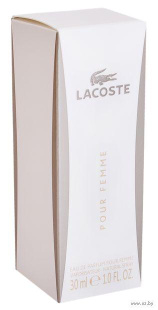 "Парфюмерная вода для женщин Lacoste ""Pour Femme"" (30 мл)"