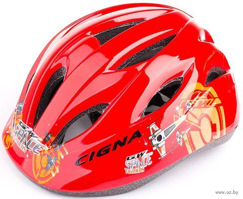 """Шлем велосипедный детский """"WT-021"""" (чёрно-зелёный) — фото, картинка"""