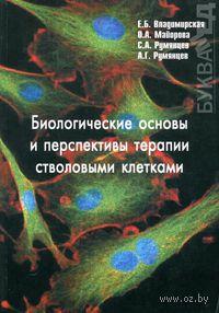 Биологические основы и перспективы терапии стволовыми клетками. Е. Владимирская, О. Майорова, А. Румянцев
