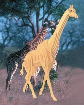 """Сборная деревянная модель """"Жираф"""" — фото, картинка"""