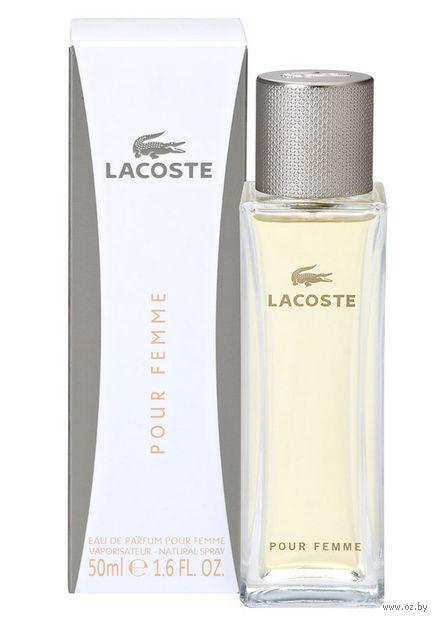 """Парфюмерная вода для женщин Lacoste """"Pour Femme"""" (50 мл) — фото, картинка"""