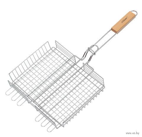 Решетка-гриль металлическая (25х30 см; арт. Mr-1004) — фото, картинка