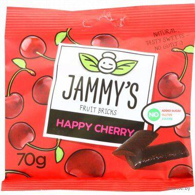 "Пастилки ""Jammy's. Вишня"" (70 г) — фото, картинка"