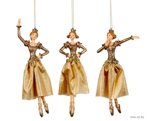 "Ёлочная игрушка ""Принцесса-балерина"" — фото, картинка"
