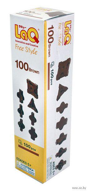 "Конструктор ""LaQ. Free Style 100 Brown"" (100 деталей)"