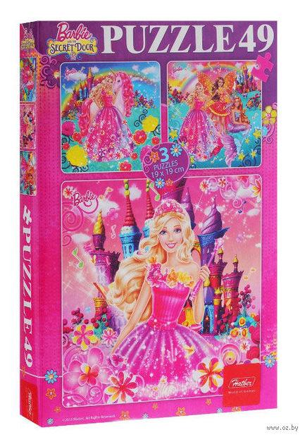 """Набор пазлов """"Barbie"""" (49 элементов)"""