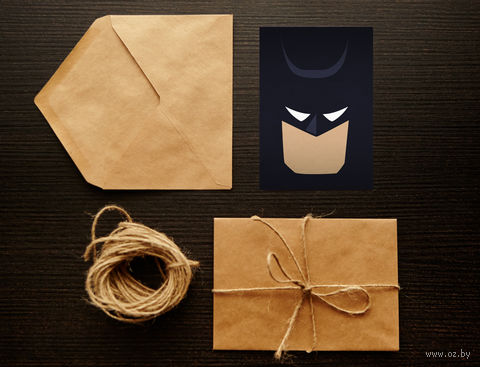 "Открытка ""Бэтмэн"" (арт. 4) — фото, картинка"