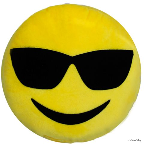 """Подголовник """"Emoji"""" (30x30 см; арт. 04-509) — фото, картинка"""