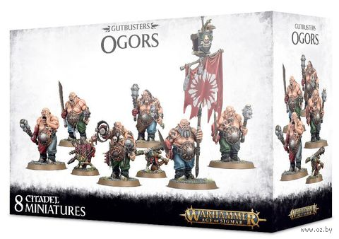 Warhammer Age of Sigmar. Gutbusters. Ogors (95-06) — фото, картинка