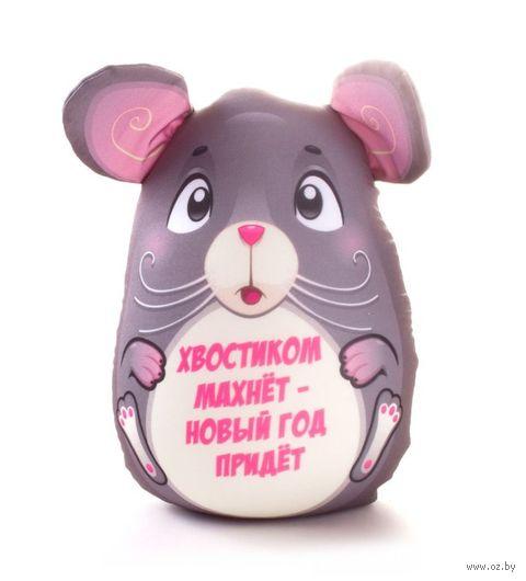 """Игрушка-антистресс """"Мышка Поздравляет"""" — фото, картинка"""