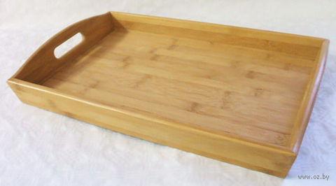Поднос бамбуковый (430х280х60 мм)