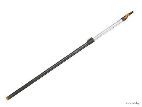 "Ручка алюминиевая ""Fiskars"" (240 см) — фото, картинка"