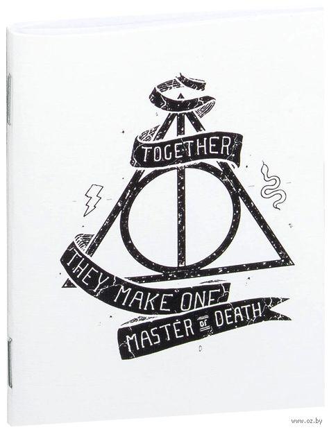 "Блокнот ""Гарри Поттер. Дары смерти"" (А7; арт. 740) — фото, картинка"