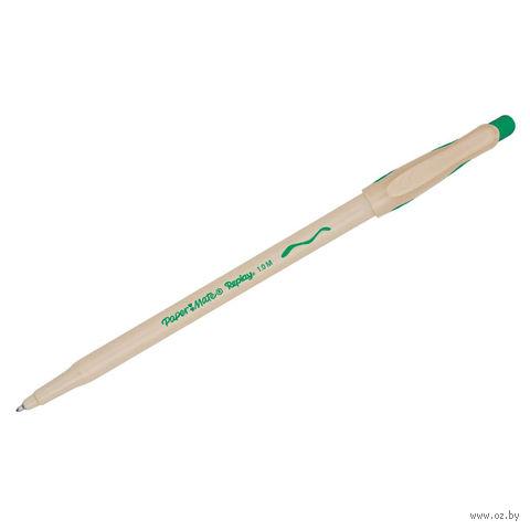 """Ручка шариковая стираемая """"Replay Medium"""" (зеленая)"""