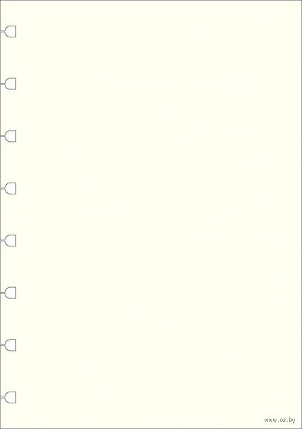 "Комплект бланков Filofax ""Нелинованная бумага"" (A5, white, 32 листа)"