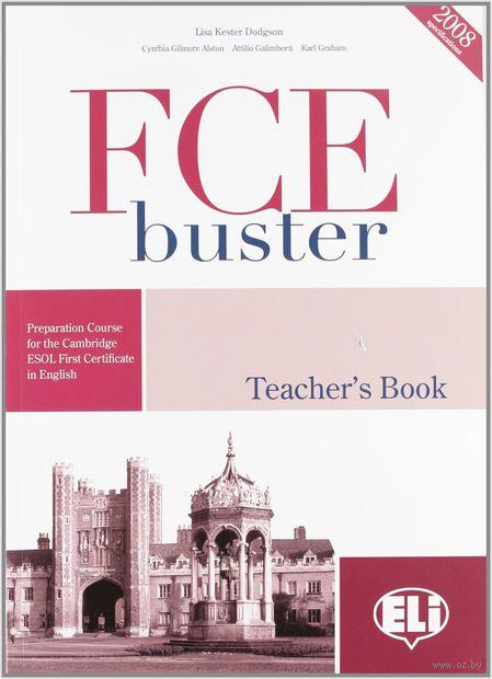Fce Buster: Teacher's Guide (+ CD) — фото, картинка