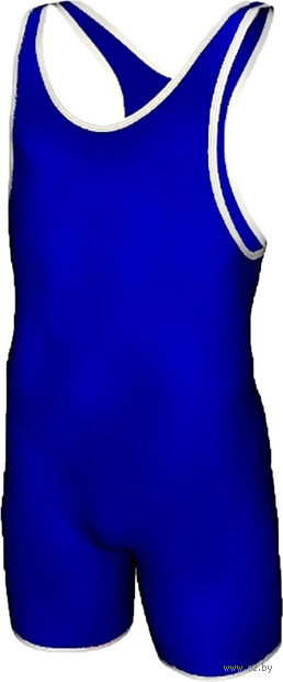 Трико борцовское MA-401 (р. 32; синее) — фото, картинка