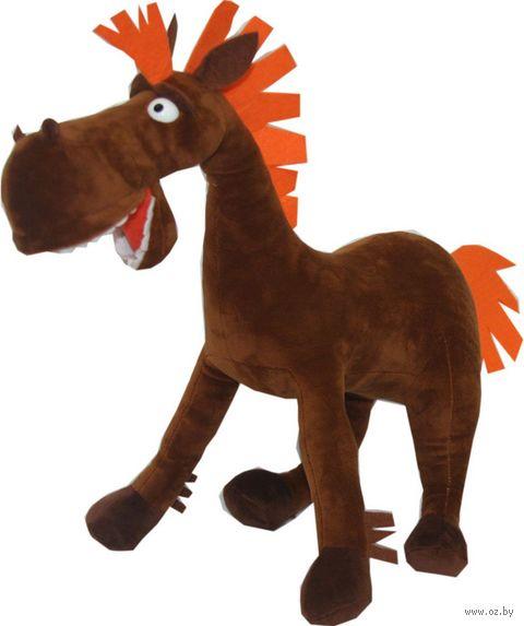 """Мягкая игрушка """"Конь Юлий"""" (38 см) — фото, картинка"""