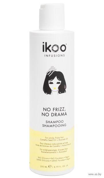 "Кондиционер для волос ""Против пушистости. No Frizz, No Drama Shampoo"" (250 мл) — фото, картинка"