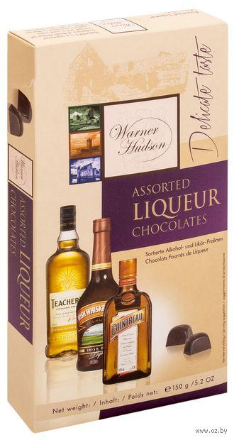 """Набор конфет """"Warner Hudson. Assorted Liqueur"""" (150 г) — фото, картинка"""