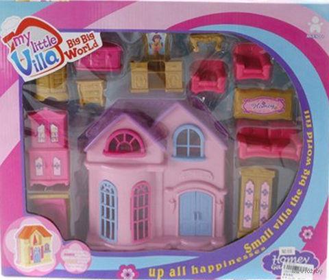 Дом для куклы с набором мебели (арт. 806)