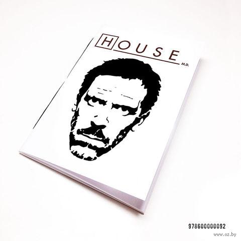 "Блокнот ""Доктор Хаус"" (А7; арт. 092) — фото, картинка"