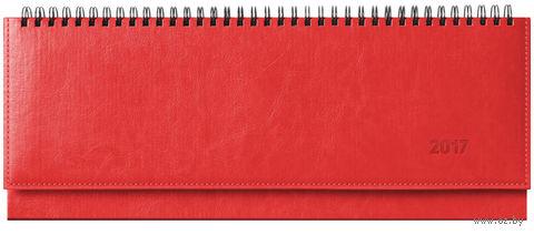 """Еженедельник-планинг датированный """"Sarif"""", 2017 (64 листа; красный)"""