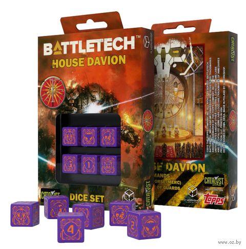 """Набор кубиков D6 """"Battletech. House Marik"""" (6 шт.) — фото, картинка"""