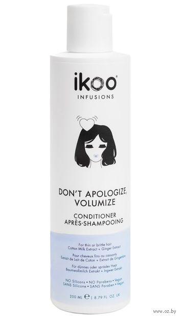 "Кондиционер для волос ""Для объема. Don't Apologize, Volumize"" (250 мл) — фото, картинка"
