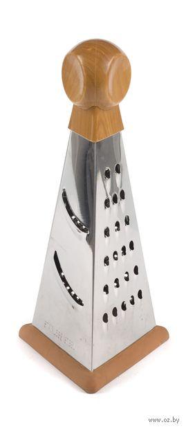 Терка металлическая 3-хгранная (21*9*10 см, арт. KL323D1-8S)