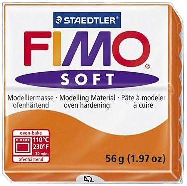 """Глина полимерная """"FIMO Soft"""" (мандарин; 56 г) — фото, картинка"""
