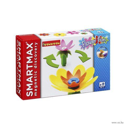 """Конструктор магнитный """"SmartMax. Забавные Цветы"""" (5 деталей)"""