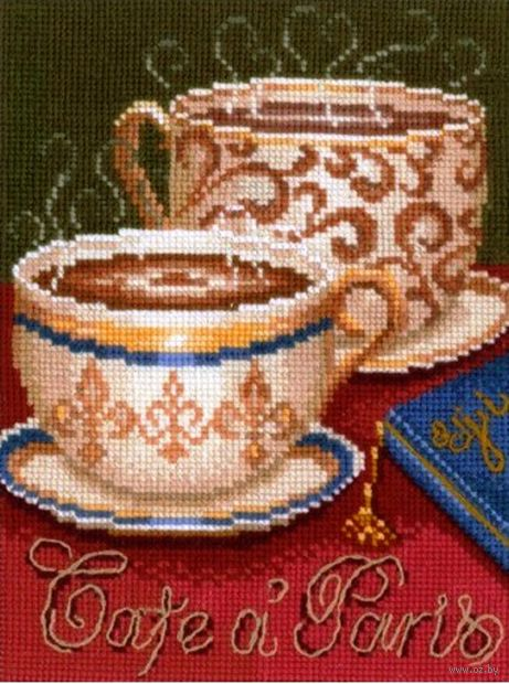 """Набор для вышивания """"Кофе в Париже"""""""