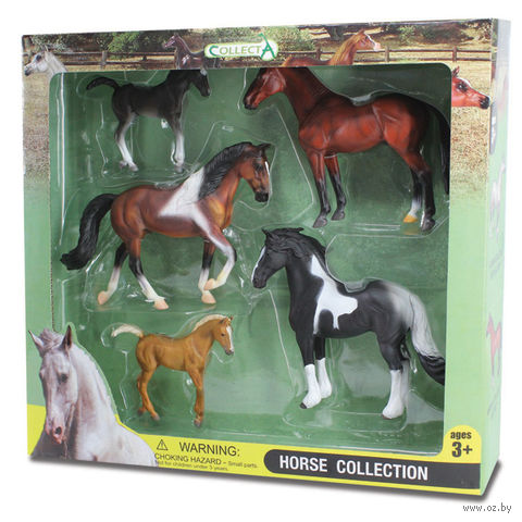 """Набор фигурок """"Лошади"""" (5 шт)"""