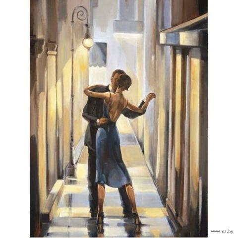 """Алмазная вышивка-мозаика """"Танец в переулке"""" (300х400 мм) — фото, картинка"""